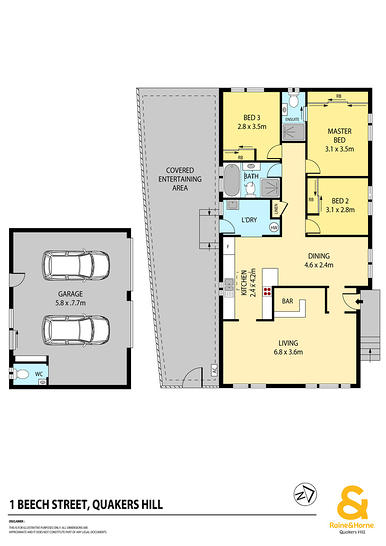 1 Beech Street, Quakers Hill 2763, NSW House Photo