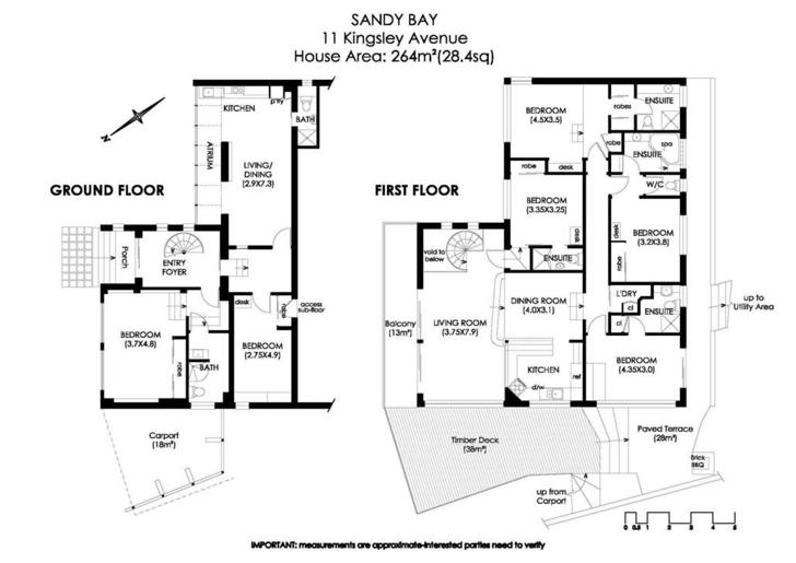 11 Kingsley Avenue, Sandy Bay 7005, TAS House Photo