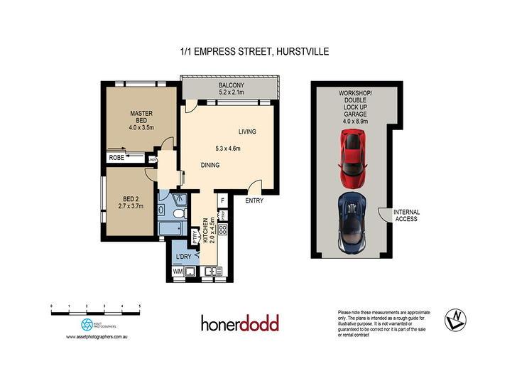 1/1 Empress Street, Hurstville 2220, NSW Apartment Photo