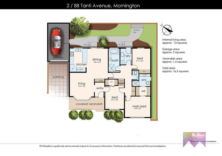 2/88 Tanti Avenue, Mornington 3931, VIC Unit Photo