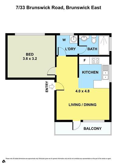 7/33 Brunswick Road, Brunswick East 3057, VIC Apartment Photo