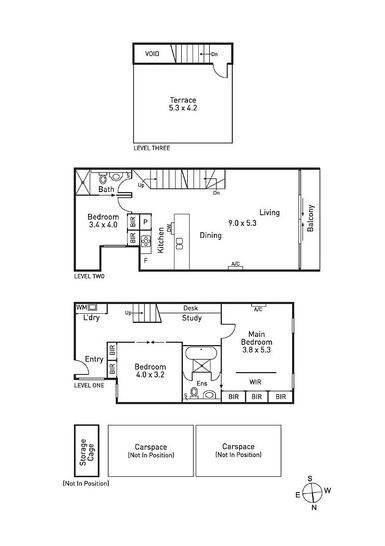 222/11 Lithgow Street, Abbotsford 3067, VIC Apartment Photo