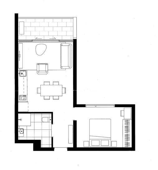 308/151 Princes Street, Carlton 3053, VIC Apartment Photo