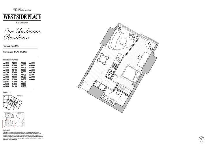 2206A/250 Spencer Street, Melbourne 3000, VIC Apartment Photo
