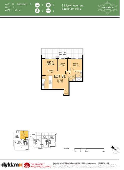 79/1 Meryll Avenue, Baulkham Hills 2153, NSW Apartment Photo