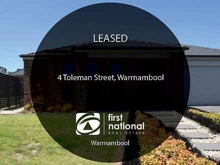 4 Toleman Street, Warrnambool 3280, VIC House Photo