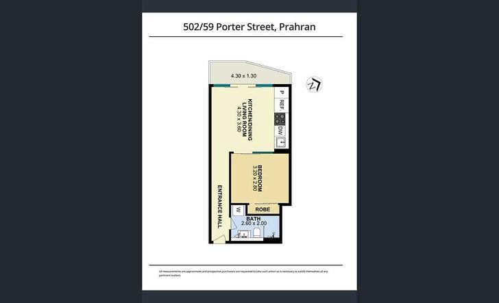 502/59 Porter Street, Prahran 3181, VIC Apartment Photo