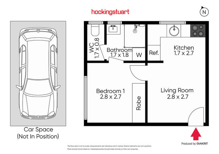 5/17 Clarke Street, Prahran 3181, VIC Apartment Photo