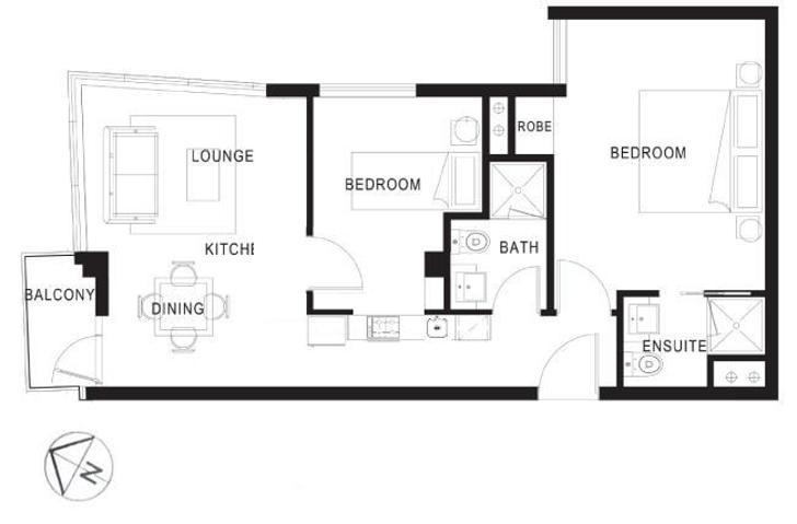 1806/8 Exploration Lane, Melbourne 3000, VIC Apartment Photo