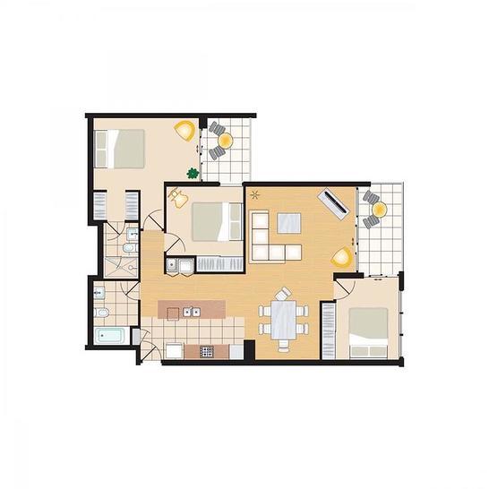 THREE BEDROOM/61 Wenthworth Avenue, Sydney 2000, NSW Apartment Photo