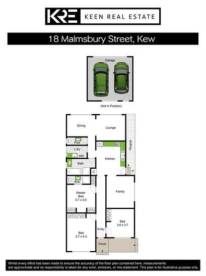 18 Malmsbury Street, Kew 3101, VIC House Photo