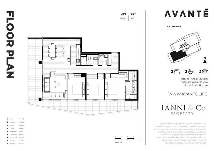 1503/3 Rawson Street, Wollongong 2500, NSW Apartment Photo