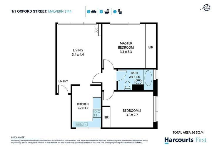 1/1 Oxford Street, Malvern 3144, VIC Apartment Photo