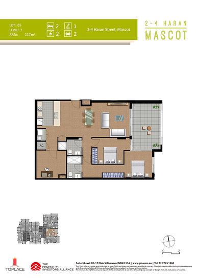 703/1 Church Avenue, Mascot 2020, NSW Apartment Photo