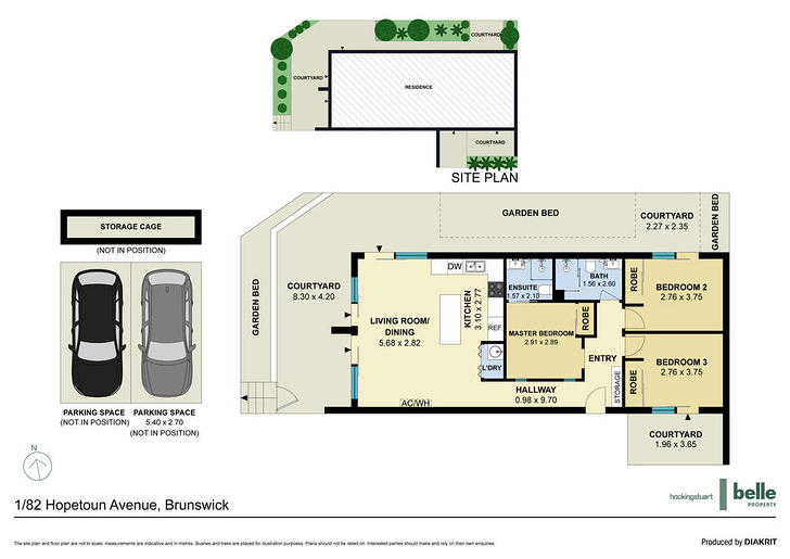 1/82 Hopetoun Avenue, Brunswick West 3055, VIC Apartment Photo