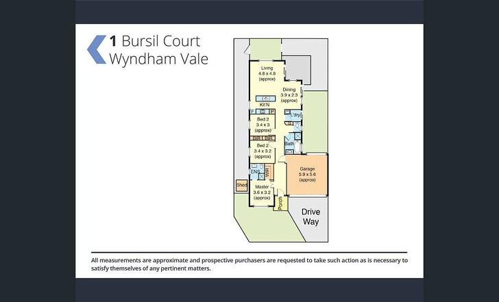 1 Bursill Court, Wyndham Vale 3024, VIC House Photo