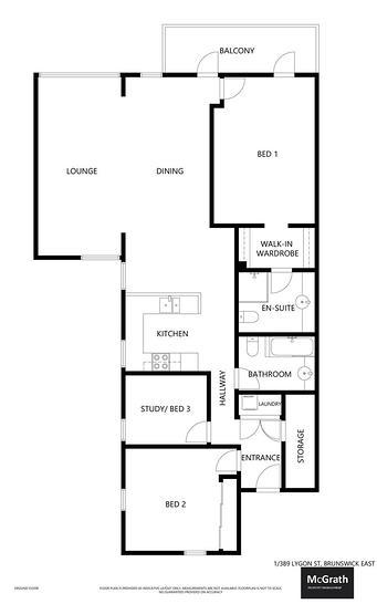 1/389 Lygon Street, Brunswick East 3057, VIC Apartment Photo