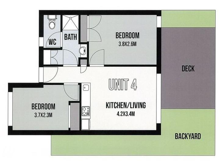 4/25 Kemp Street, Springvale 3171, VIC Apartment Photo