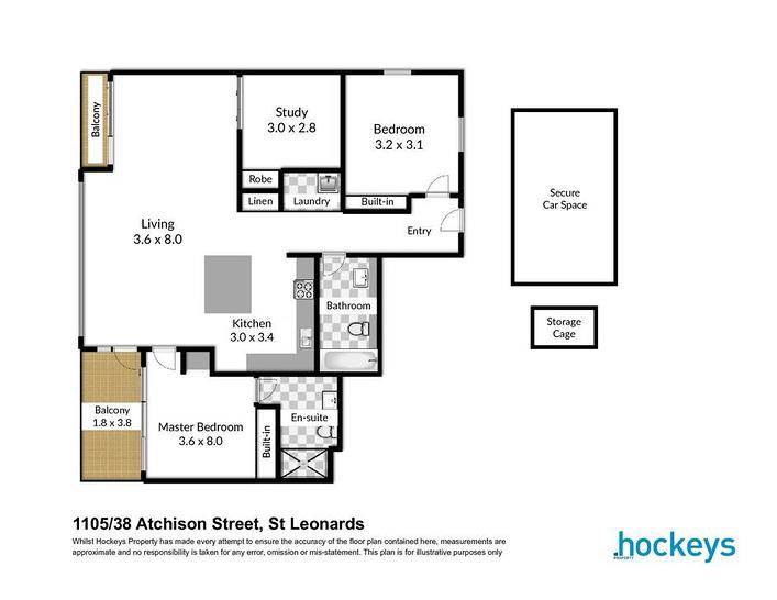 1105/38 Atchison Street, St Leonards 2065, NSW Apartment Photo