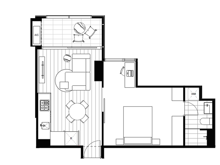 FLOOR7/8 Pearl River Road, Docklands 3008, VIC Apartment Photo