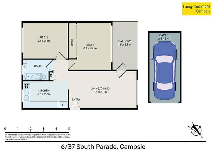 6/37 South Parade, Campsie 2194, NSW Apartment Photo