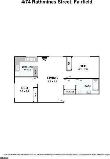 4/74 Rathmines Street, Fairfield 3078, VIC Apartment Photo