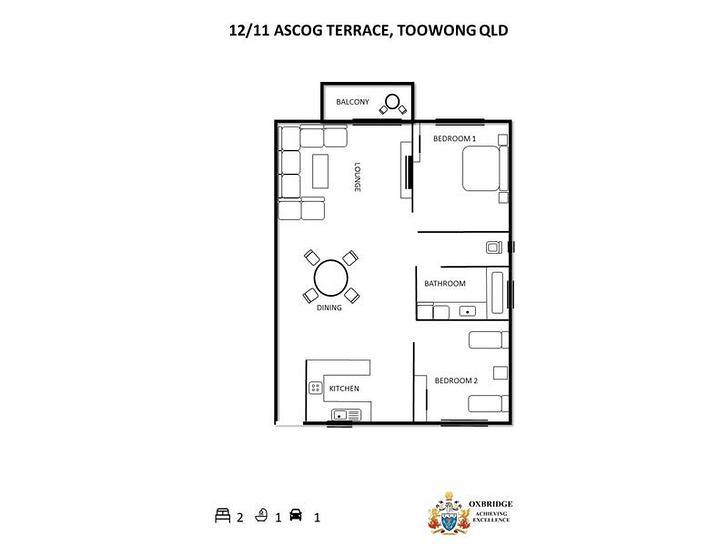 12/11 Ascog Terrace, Toowong 4066, QLD Apartment Photo