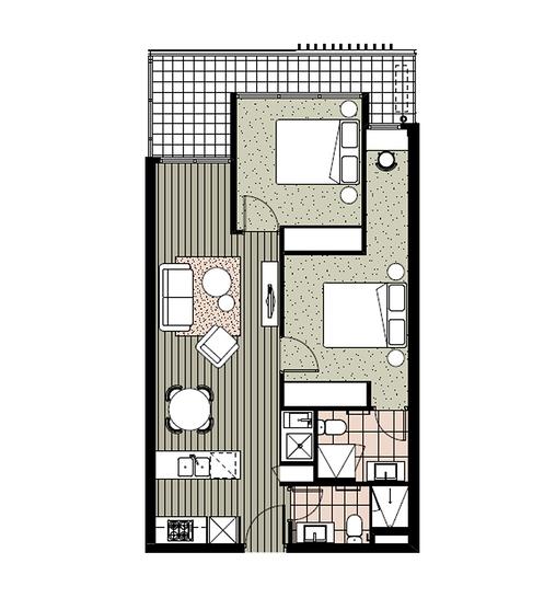 707/18 Albert Street, Footscray 3011, VIC Apartment Photo