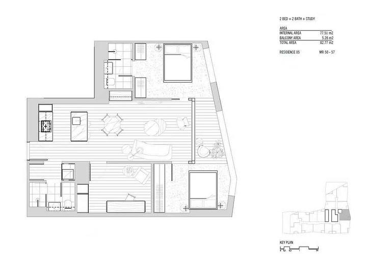 5605/160 Victoria Street, Carlton 3053, VIC Apartment Photo