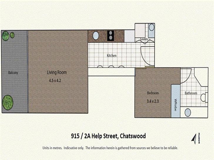 915/2A Help Street, Chatswood 2067, NSW Apartment Photo
