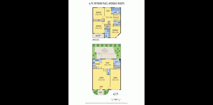 UNIT 6/9C Weyburn Place, Avondale Heights 3034, VIC Townhouse Photo