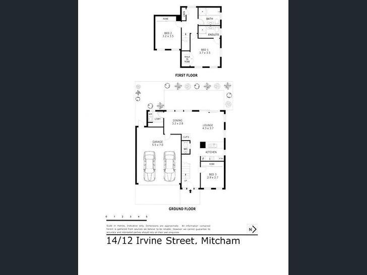 14/12 Irvine Street, Mitcham 3132, VIC Townhouse Photo