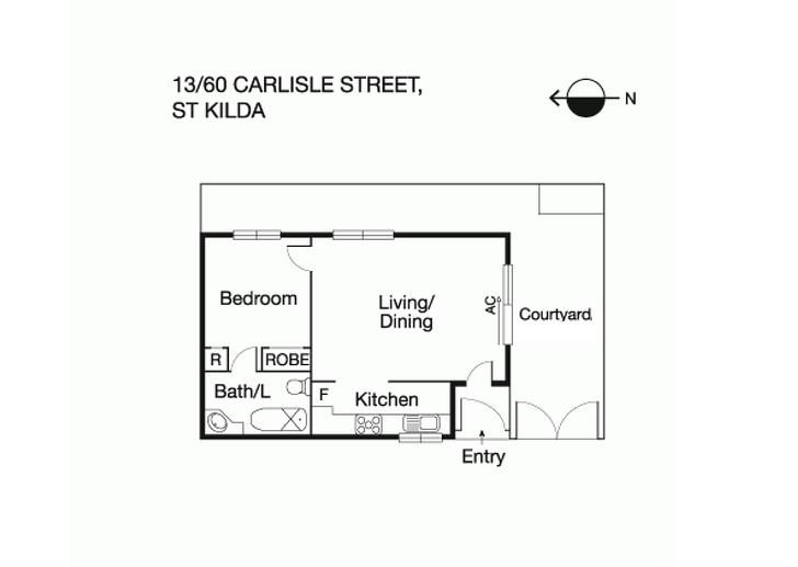 13/60 Carlisle Street, St Kilda 3182, VIC Unit Photo