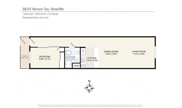 38/53 Vernon Terrace, Teneriffe 4005, QLD Apartment Photo