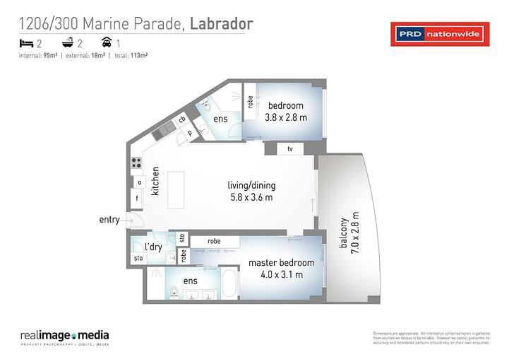 1206/300 Marine Parade, Labrador 4215, QLD Apartment Photo