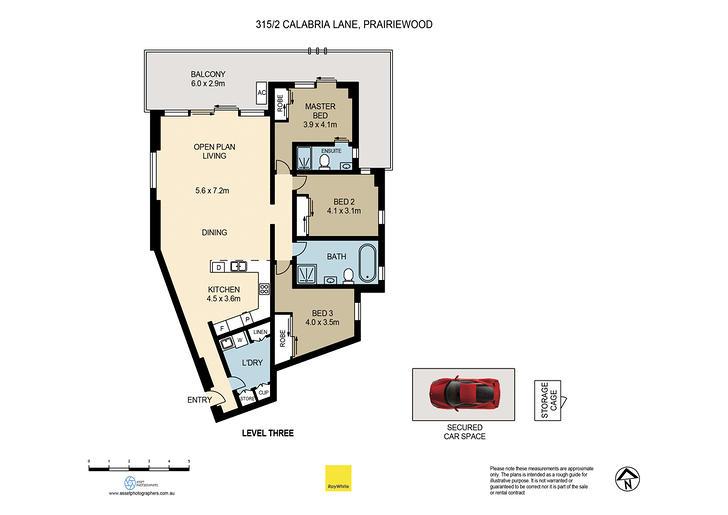315D/2 Calabria Lane, Prairiewood 2176, NSW Apartment Photo