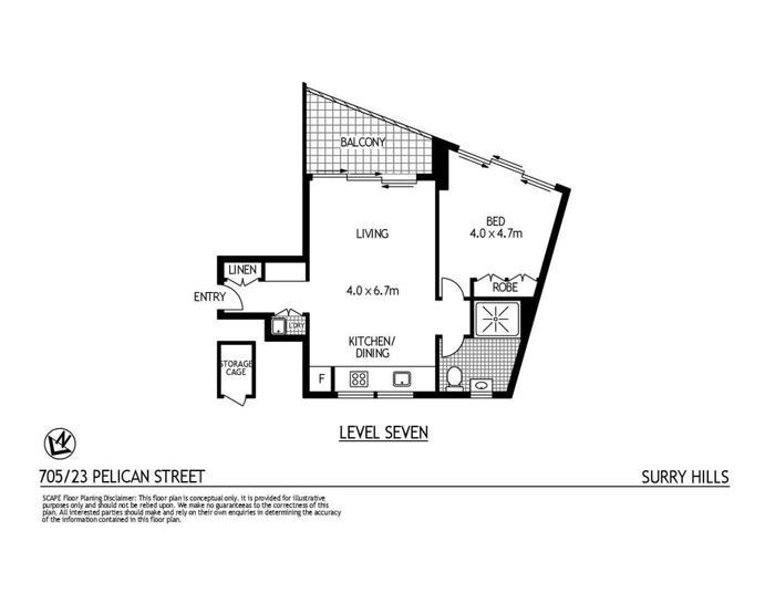 705/23 Pelican Street, Surry Hills 2010, NSW Apartment Photo