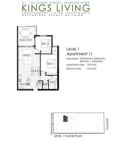 11/31-33 King Street, Templestowe 3106, VIC Apartment Photo
