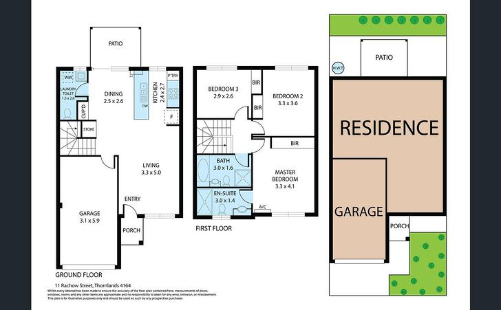 11 Rachow Street, Thornlands 4164, QLD Townhouse Photo