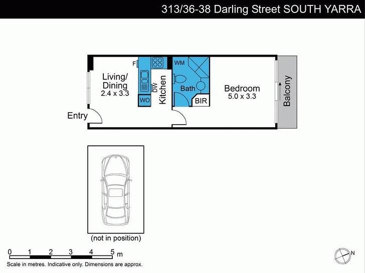 313/36 Darling Street, South Yarra 3141, VIC Apartment Photo