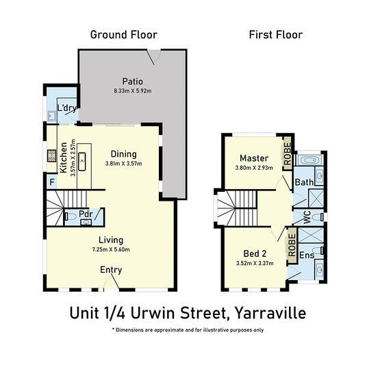 1/4 Urwin Street, Yarraville 3013, VIC Townhouse Photo