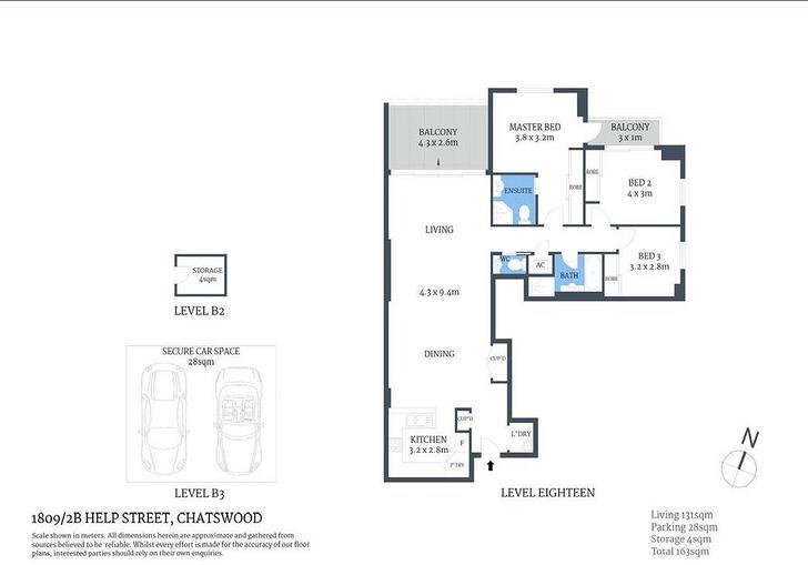 1809/2B Help Street, Chatswood 2067, NSW Apartment Photo