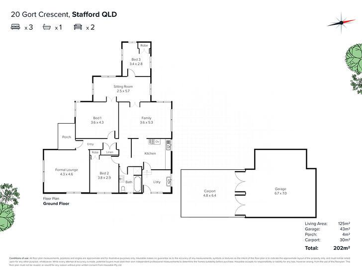 20 Gort Crescent, Stafford 4053, QLD House Photo