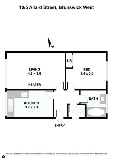 10/5 Allard Street, Brunswick West 3055, VIC Apartment Photo