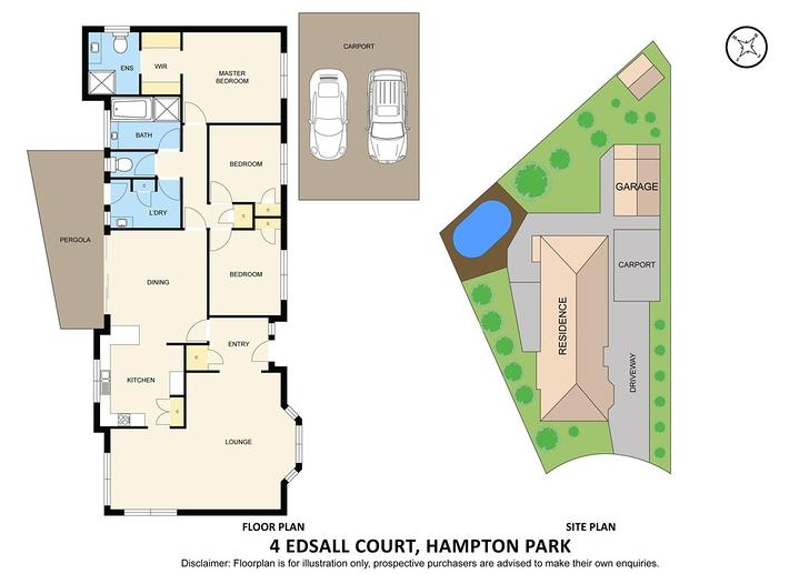 4 Edsall Close, Hampton Park 3976, VIC House Photo