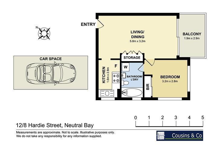 12/8 Hardie Street, Neutral Bay 2089, NSW Apartment Photo