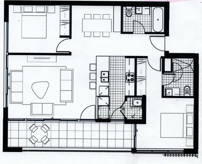 705/4 Peake Avenue, Rhodes 2138, NSW Apartment Photo