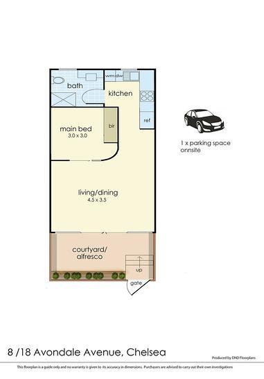 8/18 Avondale Avenue, Chelsea 3196, VIC Apartment Photo