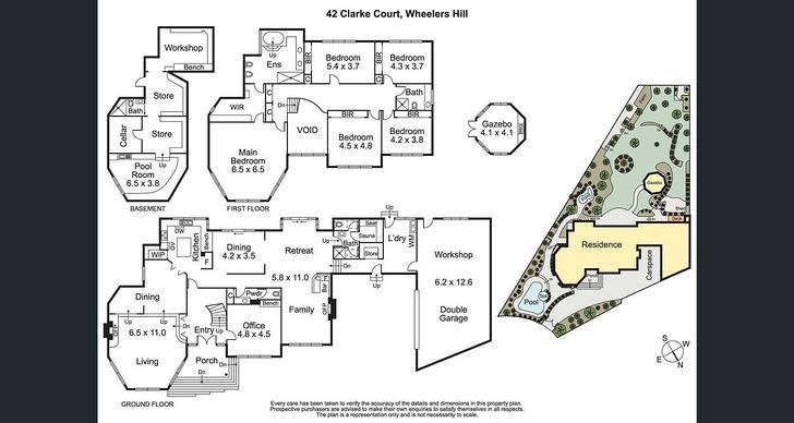 42 Clarke Court, Wheelers Hill 3150, VIC House Photo