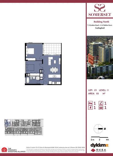 123/10 Thallon Street, Carlingford 2118, NSW Apartment Photo